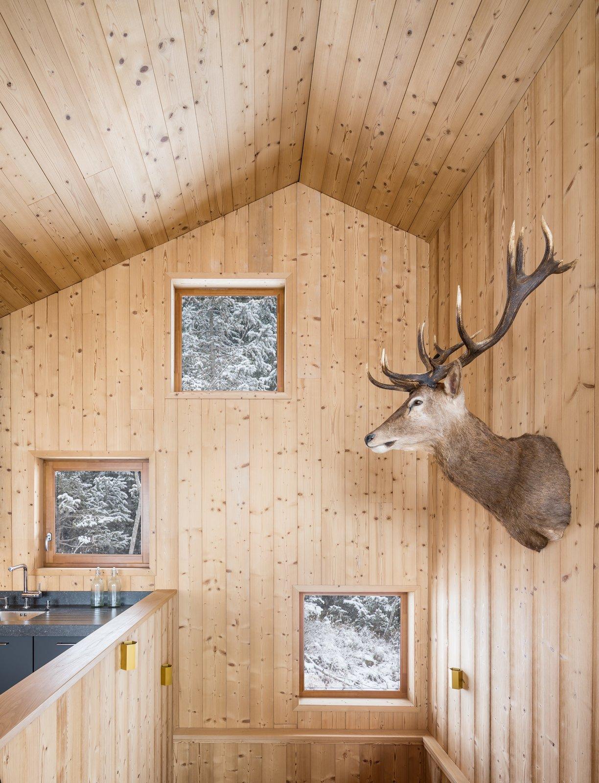 Tagged: Staircase.  Mountain House by studio razavi architecture