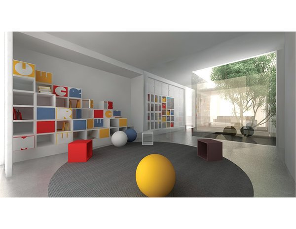 Children's room Photo 9 of FluxHouse modern home