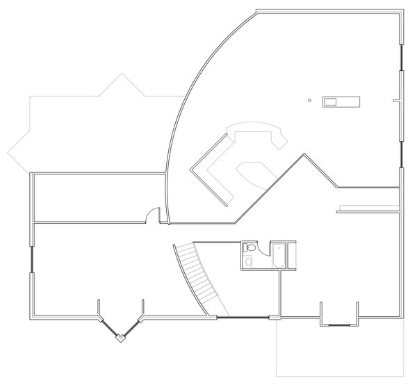Second Floor Plan Photo 8 of Deerbrook Estates Home modern home