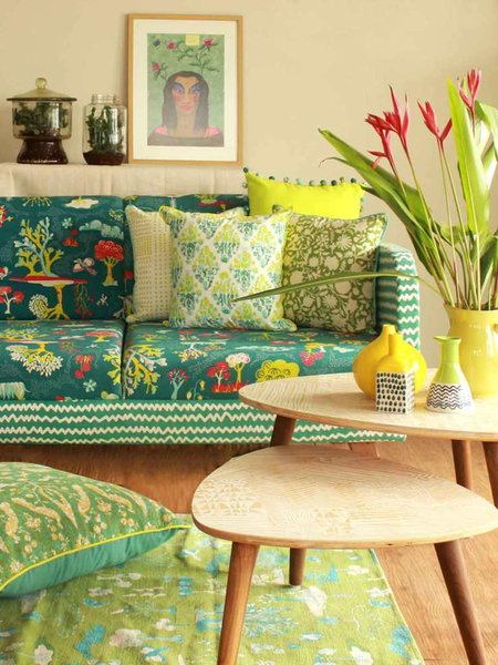 Photo 6 of Indian Textiles in Home Decor modern home