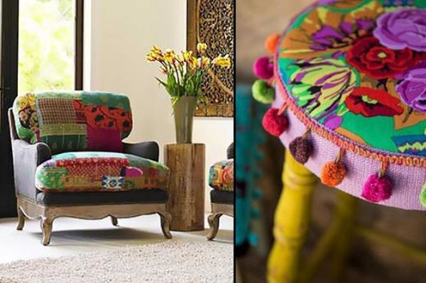 Photo 2 of Indian Textiles in Home Decor modern home