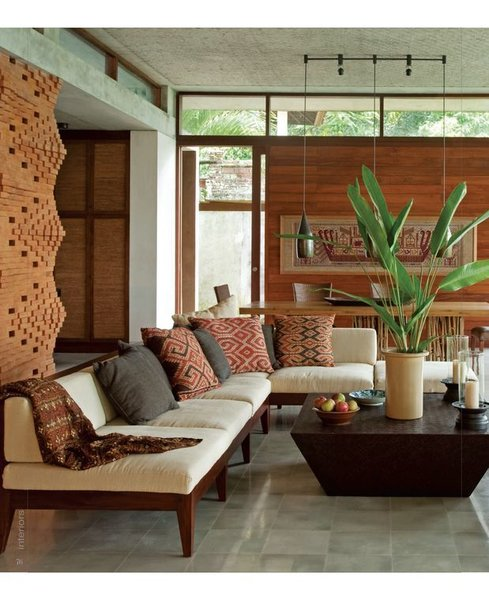 Photo  of Indian Textiles in Home Decor modern home