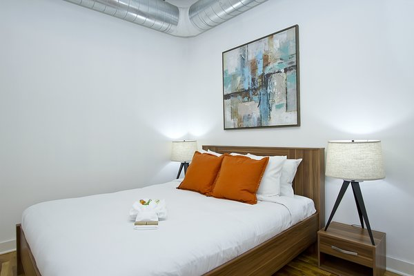 Photo 10 of Chicago Church Conversion - 2 bedroom in Bucktown modern home