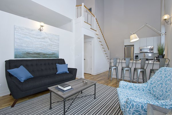 Photo 8 of Chicago Church Conversion - 2 bedroom in Bucktown modern home