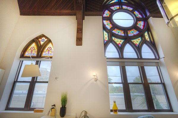 Photo 9 of Chicago Church Conversion - 2 bedroom in Bucktown modern home