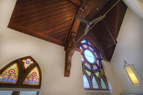 Architectural Details Photo 16 of Chicago Church Conversion - 2 bedroom in Bucktown modern home