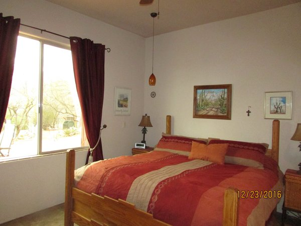 Master bedroom King bed Photo 8 of Caliente Creek Ranch modern home