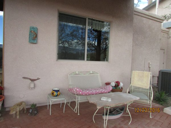 Enjoy morning coffee in the southern exposure Photo 16 of Caliente Creek Ranch modern home