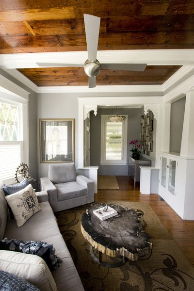 Entry & living room Photo 7 of Historic Bungalow modern home