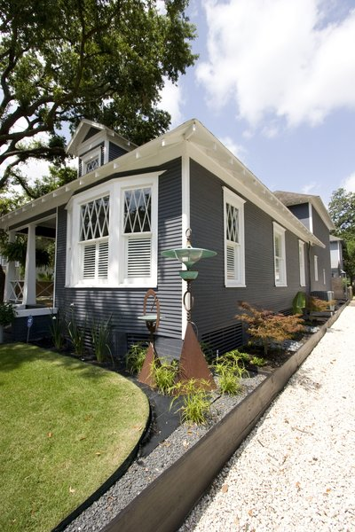 Updated landscaping & house paint. Photo 3 of Historic Bungalow modern home