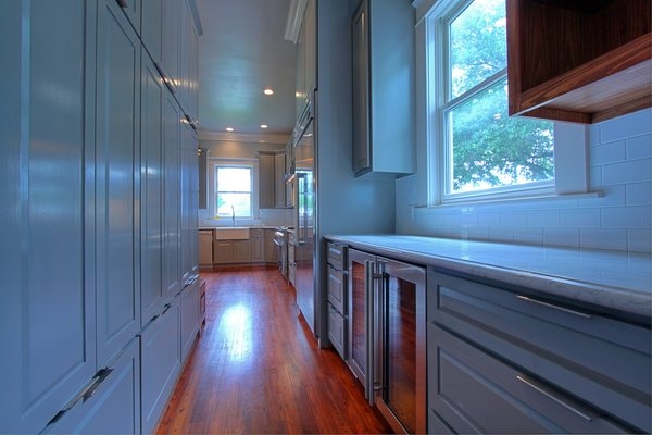 Lots of storage in the renovated kitchen Photo 12 of Victorian Restoration modern home