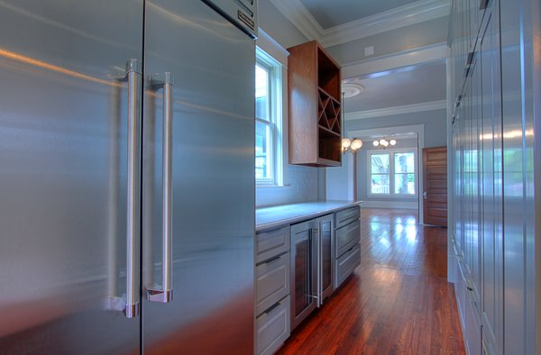 Lots of storage in the renovated kitchen Photo 14 of Victorian Restoration modern home
