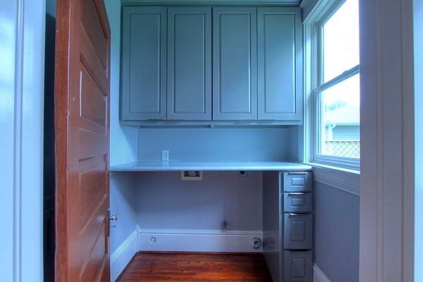 Laundry Room off kitchen Photo 16 of Victorian Restoration modern home