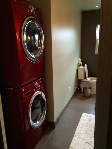 Laundry Nook Photo 5 of Mid Century Bath modern home