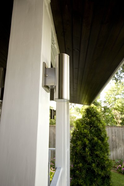 Updated electrical fixtures to provide more security for the back porch Photo 8 of Modern Victorian Exterior modern home