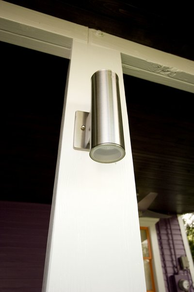 Updated electrical fixtures to provide more security for the back porch Photo 7 of Modern Victorian Exterior modern home