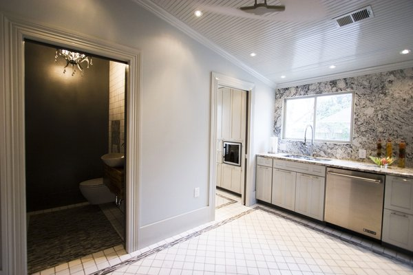 Kitchen - powder room and laundry room Photo 8 of Modern Victorian Interior modern home