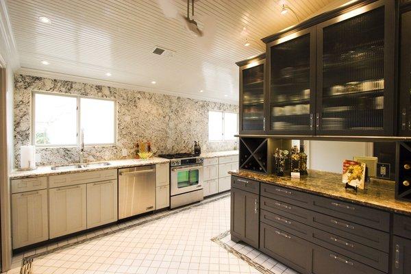 Kitchen - Entertaining area Photo 3 of Modern Victorian Interior modern home
