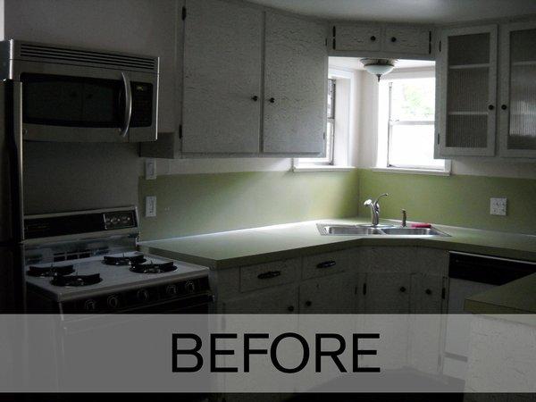 Kitchen - Before Photo  of Modern Victorian Interior modern home