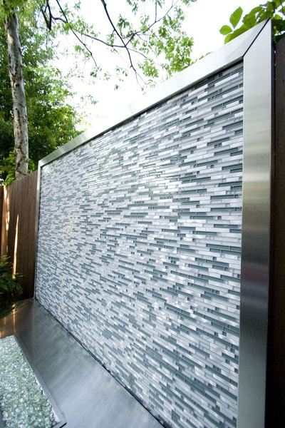 Fireplace detail Photo 11 of Outdoor Living modern home