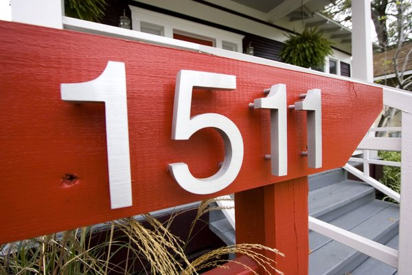 Modernized numbers were added to the custom mailbox screen to bring an updated feel to this historic asian bungalow. Photo 7 of Asian Bungalow modern home