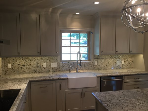 """A tight work space for cooking and cleaning best suited this clients needs.  It allowed them to contain """"dangerous"""" areas in the kitchen on a daily basis. Photo 4 of ADA Kitchen modern home"""