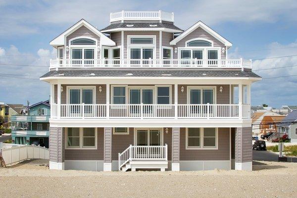 Photo 12 of Long Beach Island Oceanfront w/ Panoramic Ocean & Bay Views modern home