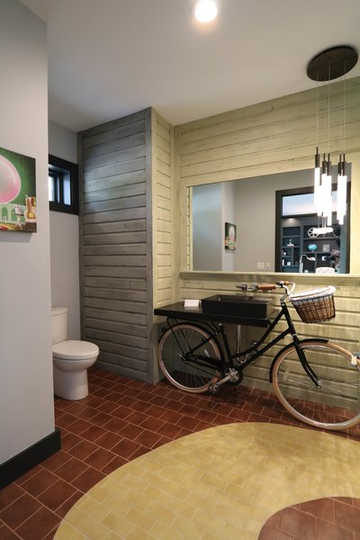 Modern Farm House - Wizard of Oz Themed Powder Room Photo 9 of Modern Farm House Eco-Smart Home modern home