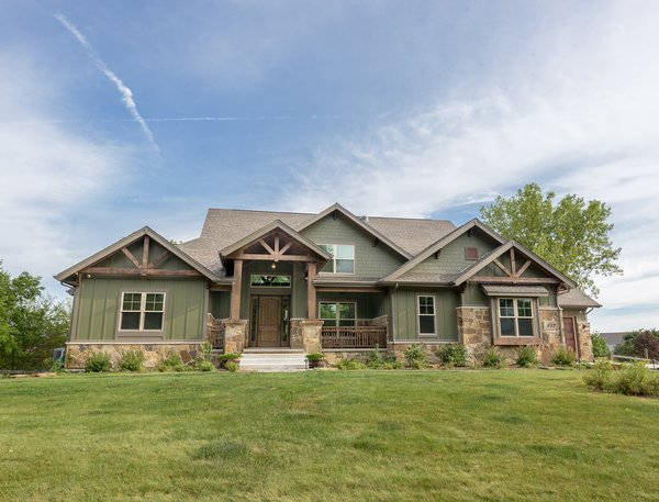 Grand Teton - Front Photo 2 of Grand Teton Eco-Smart Home modern home