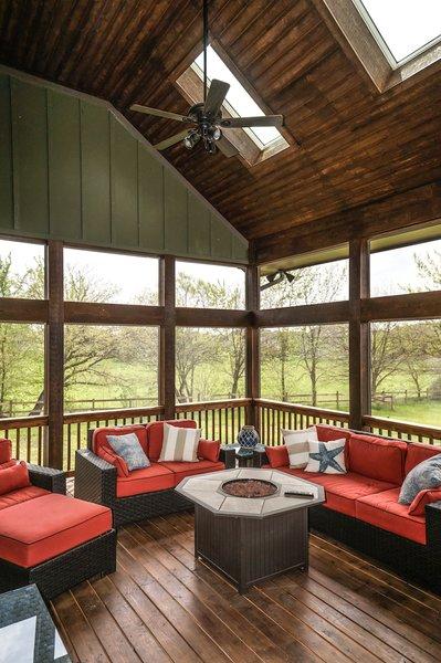 Grand Teton - Screened-In Porch Photo 4 of Grand Teton Eco-Smart Home modern home