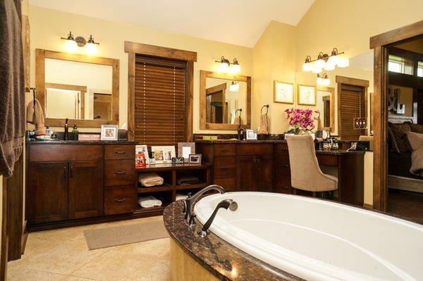 Grand Teton - Master Bath Photo 8 of Grand Teton Eco-Smart Home modern home