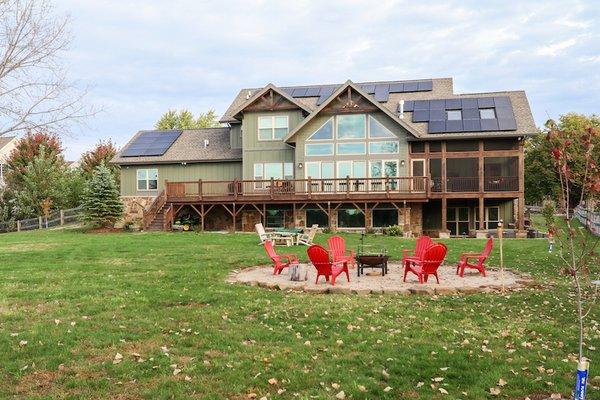 Grand Teton - Backyard Photo  of Grand Teton Eco-Smart Home modern home