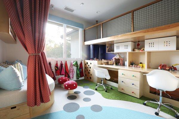 Playroom - Custom Carpentry & Flor Tiles Photo  of The Fun House modern home