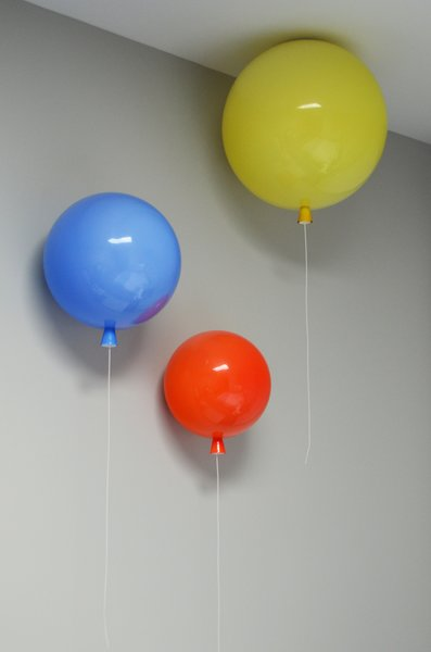 Baby's Bedroom - Balloon Light Detail Photo 10 of The Fun House modern home