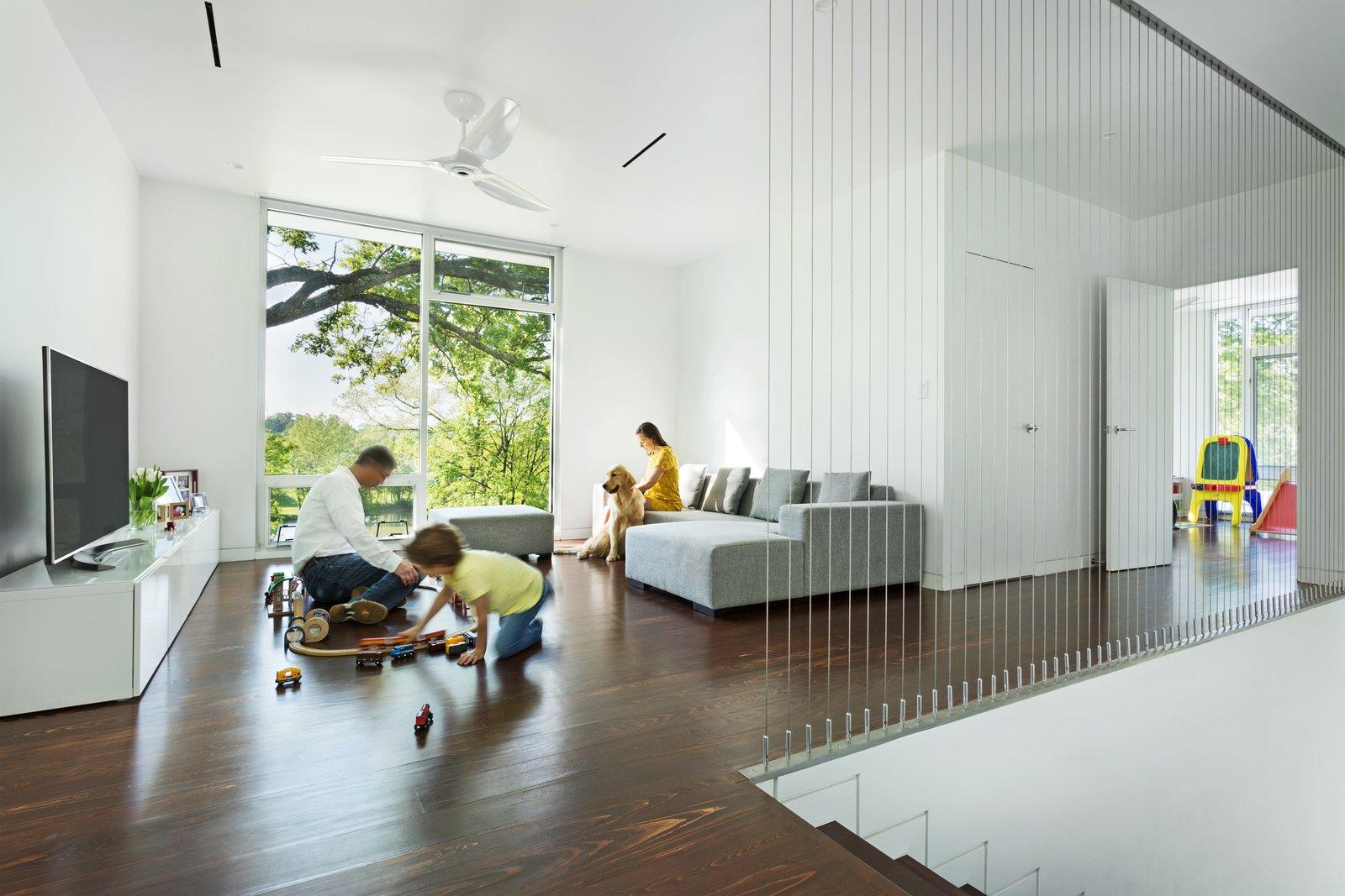 Family Room / Play Room  Boetger Residence by Chad Boetger