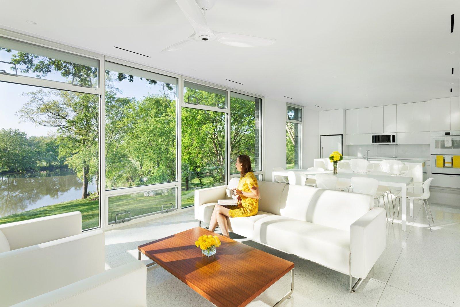 Open floor plan: Kitchen, Dining, & Living Room