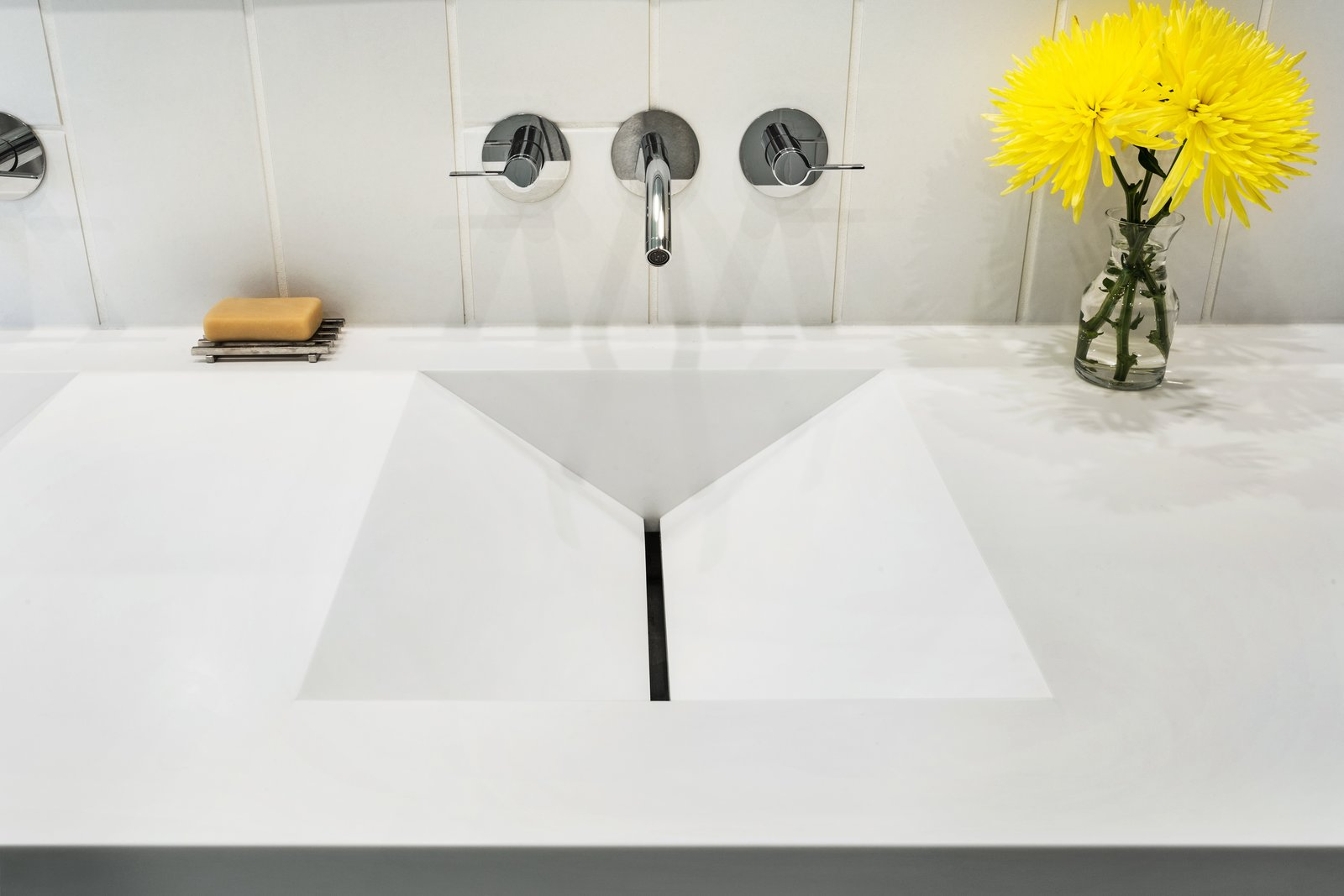 Bathroom Sink Detail  Boetger Residence by Chad Boetger