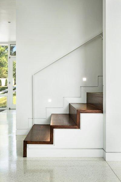 Stair Railing Detail Photo 10 of Boetger Residence modern home