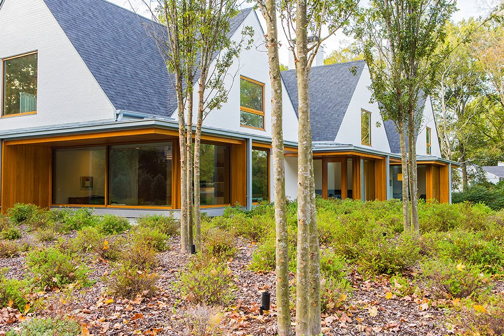 Front Yard  Gable House by Michael Goorevich