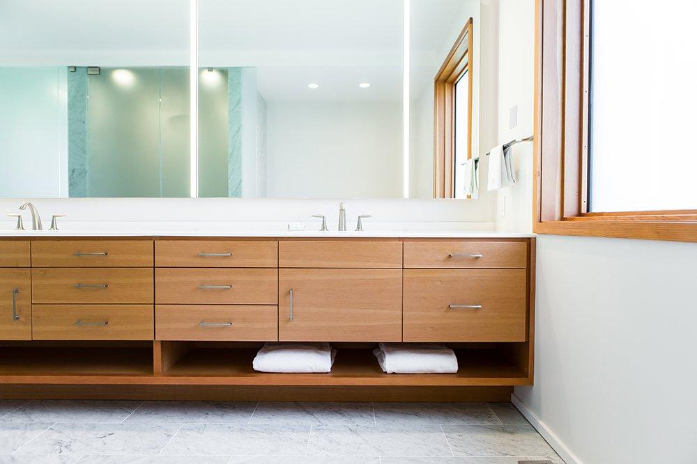 Bathroom Vanity  Gable House by Michael Goorevich