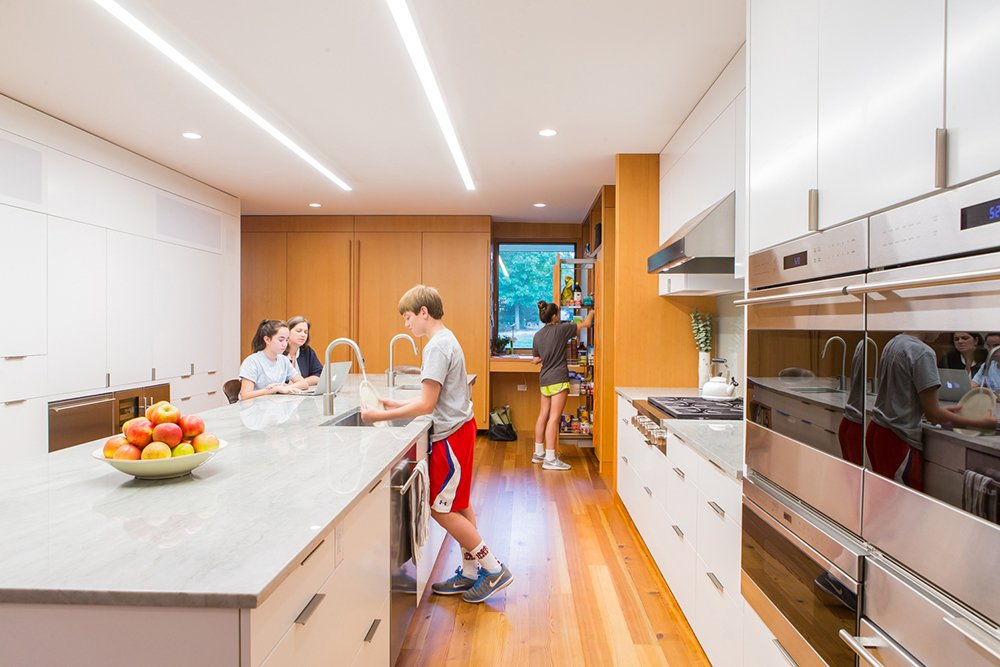 Kitchen  Gable House by Michael Goorevich