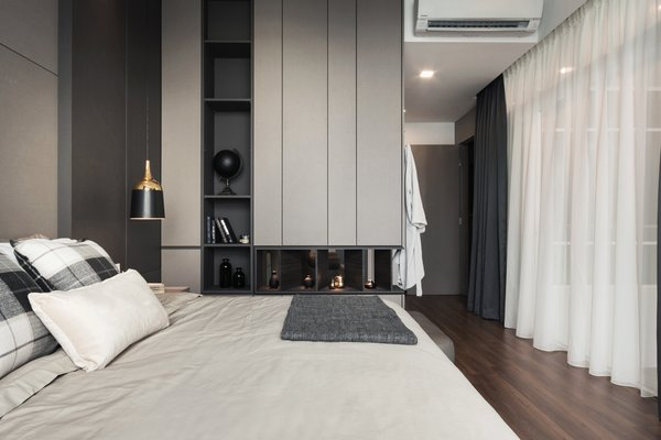 Master Bedroom Photo 16 of Scent - A Modest Luxury modern home