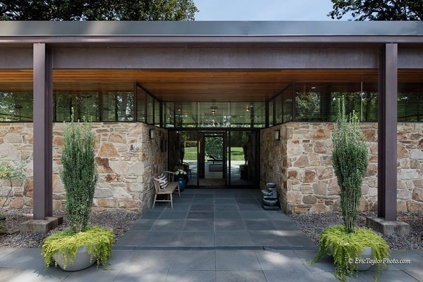 Front Entry Photo  of Franzen House modern home