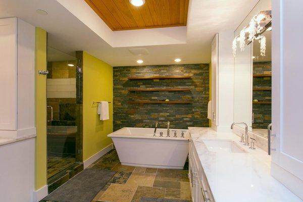 Master Bathroom Photo 9 of The Sanctuary modern home
