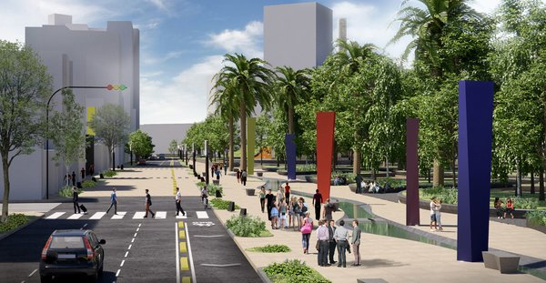 Paseo Urbano Monumento a la Madre - Eskema Arquitectos Photo 9 of Paseo Urbano Monumento a la Madre modern home