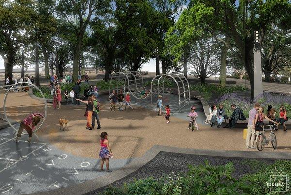 Paseo Urbano Monumento a la Madre - Eskema Arquitectos Photo 8 of Paseo Urbano Monumento a la Madre modern home