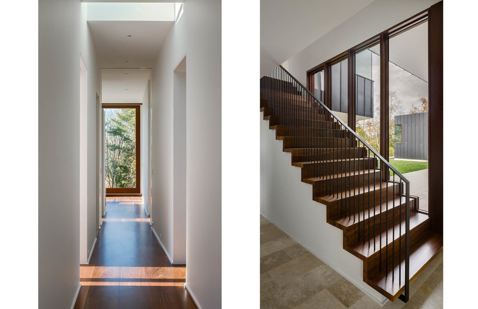 Hall and Stair to Master Bedroom