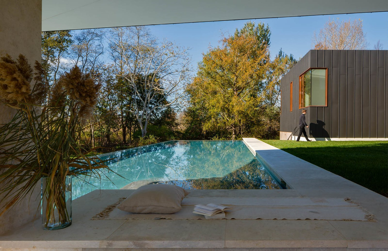 Pool  Watermill House by Office of Architecture