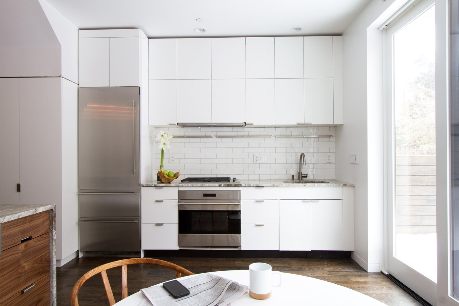 Kitchen Brooklyn Row 2 by Office of Architecture