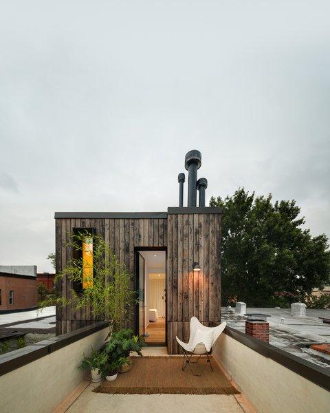 Rear Roof Terrace